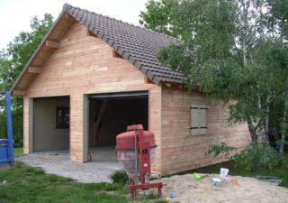 garage en bois aveyron
