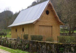 garage ossature bois Aveyron
