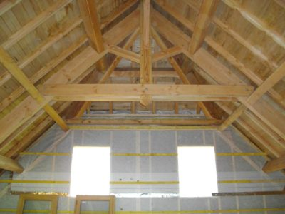 charpente maison bozouls construction bois